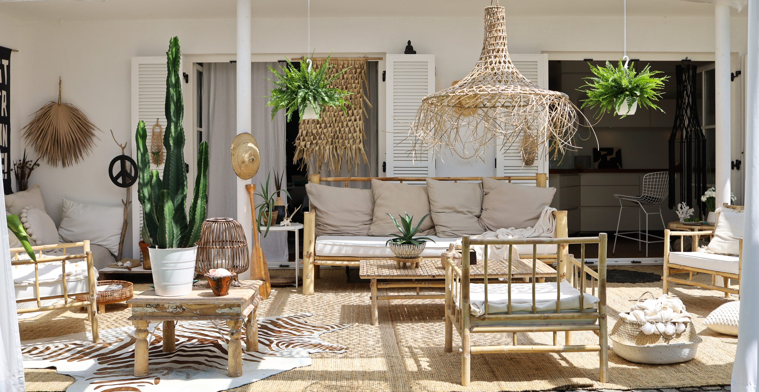 Boho Outdoorlounge
